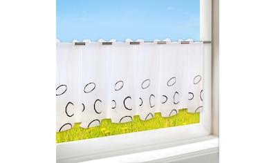 Delindo Lifestyle Scheibengardine »SWANSEA«, HxB: 44x115, mit Stangendurchzug, für die Küche kaufen
