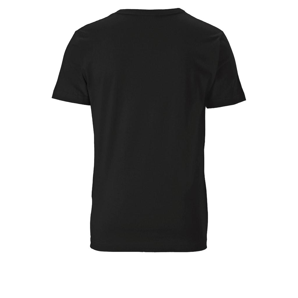 LOGOSHIRT Rundhalsshirt, mit coolem Punisher-Druck