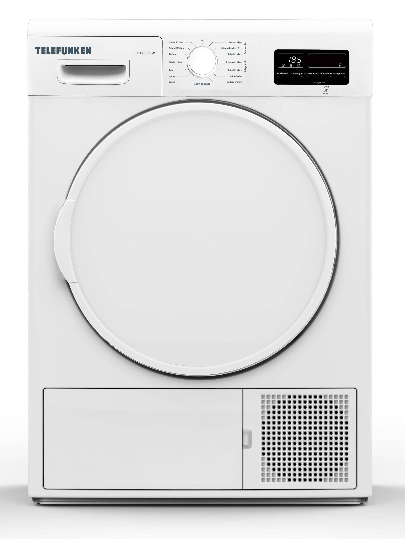 Telefunken Wärmepumpentrockner (7 kg /A++ / weiß) T-12-300-W | Bad > Waschmaschinen und Trockner > Wärmepumpentrockner | Telefunken