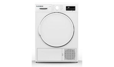 Telefunken Wärmepumpentrockner (7 kg /A++ / weiß) kaufen