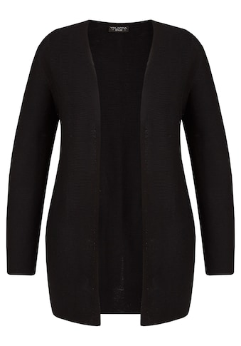 VIA APPIA DUE Stilbewusster Cardigan mit Struktur-Streifen Plus Size kaufen