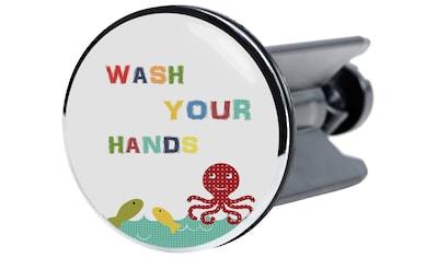 Sanilo Waschbeckenstöpsel »Wash Your Hands«, Ø 4 cm kaufen