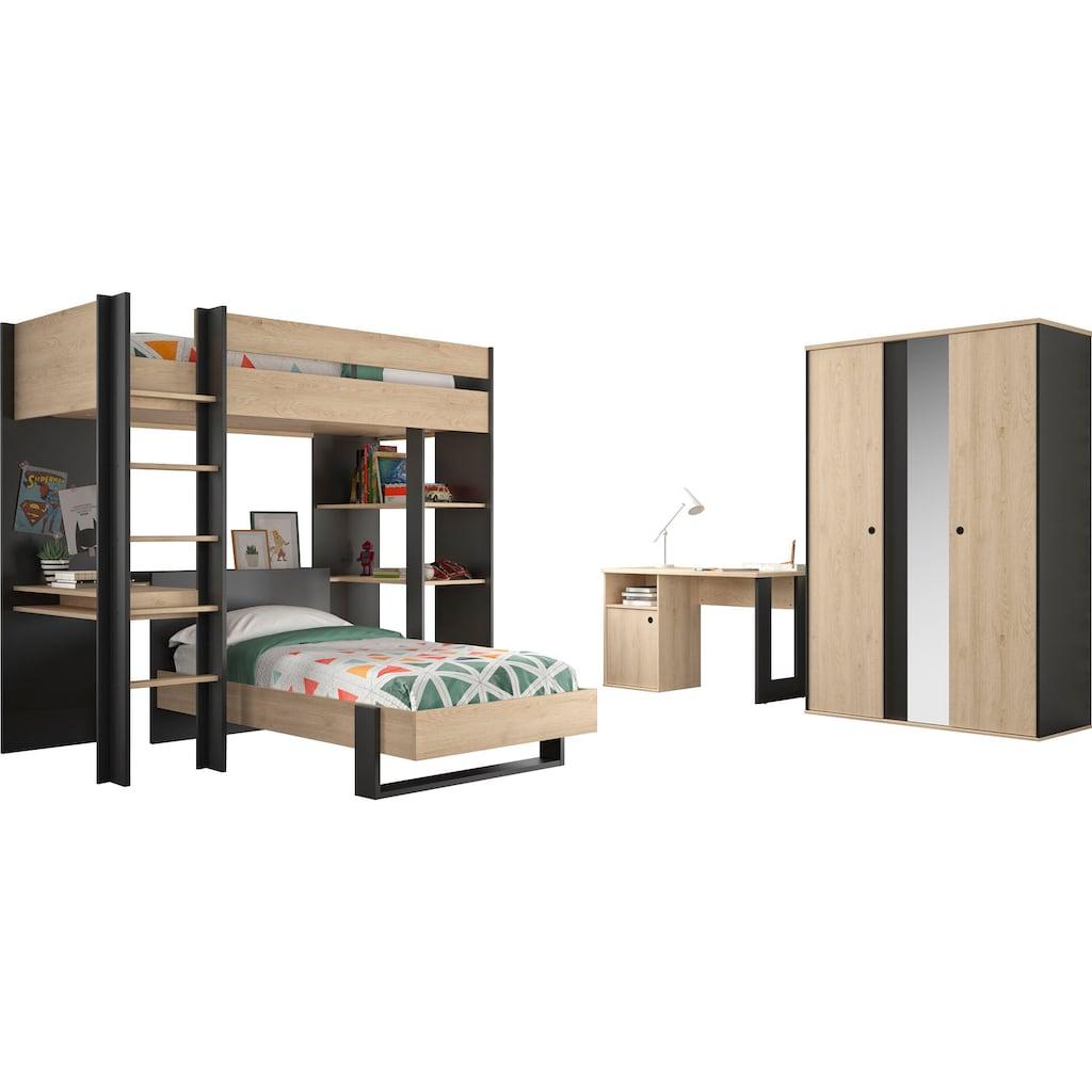 Gami Jugendzimmer-Set »Duplex«, (4 St.)