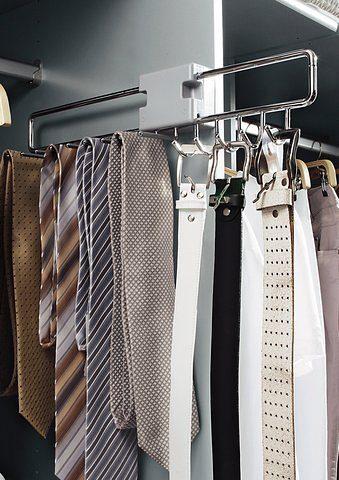 rauch ORANGE Krawattenhalter silberfarben Zubehör für Kleiderschränke Möbel