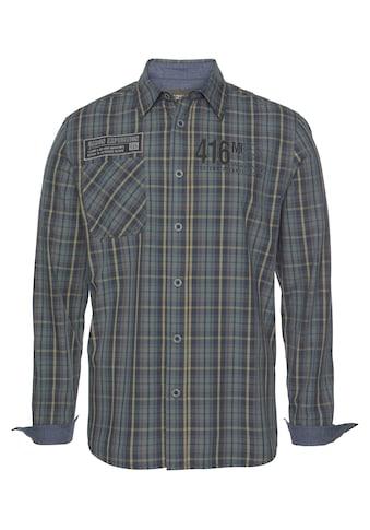 Man's World Langarmhemd kaufen