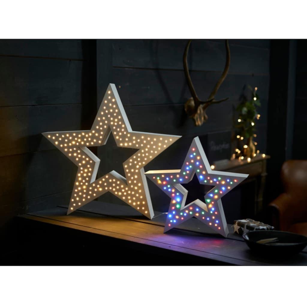 LED Stern »Multi Stern«, Farbwechsler, mit vielen Lichtfunktionen