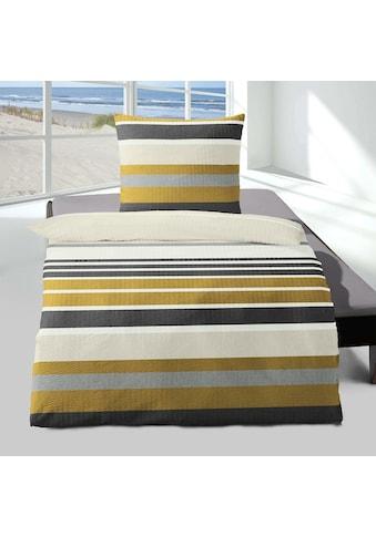 TRAUMSCHLAF Bettwäsche »Konstanz«, leicht aufgeraute Seersucker Qualität kaufen