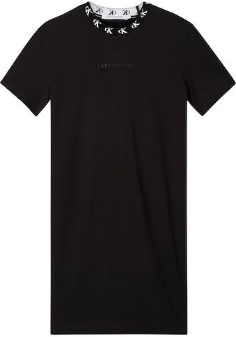 Calvin Klein Jeans Jerseykleid »CK LOGO TRIM T - SHIRT DRESS« kaufen