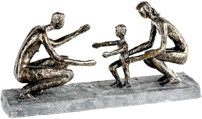 Casablanca by Gilde Dekofigur »Skulptur First steps, bronzefarben/grau«, Dekoobjekt,... kaufen