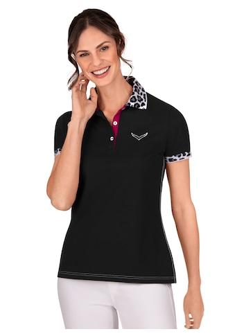 Trigema Poloshirt, mit Jacquard-Flachstrickkragen kaufen