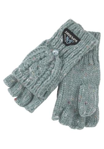Superdry Strickhandschuhe, Gracie Cable Glove kaufen