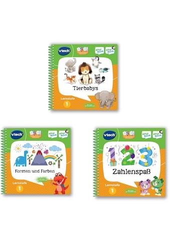 Vtech® Buch »MagiBook Lernstufe 1 - Tierbabys, Formen und Farben, Zahlenspaß« kaufen