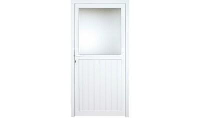 KM Zaun Nebeneingangstür »K606P«, BxH: 98x208 cm cm, weiß, rechts kaufen
