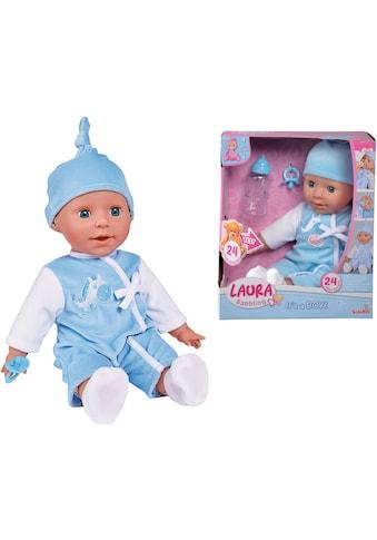 SIMBA Babypuppe »Laura, Babysprache Bruder«, mit Schlafaugen und Sound kaufen