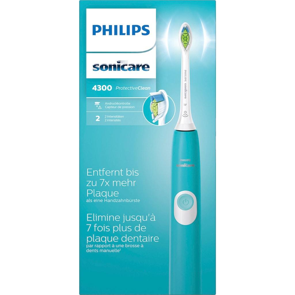 Philips Sonicare Elektrische Zahnbürste HX6802/28, Aufsteckbürsten: 1 Stk.
