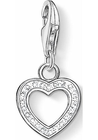 THOMAS SABO Charm-Einhänger »Herz, 0930-051-14«, mit Zirkonia kaufen