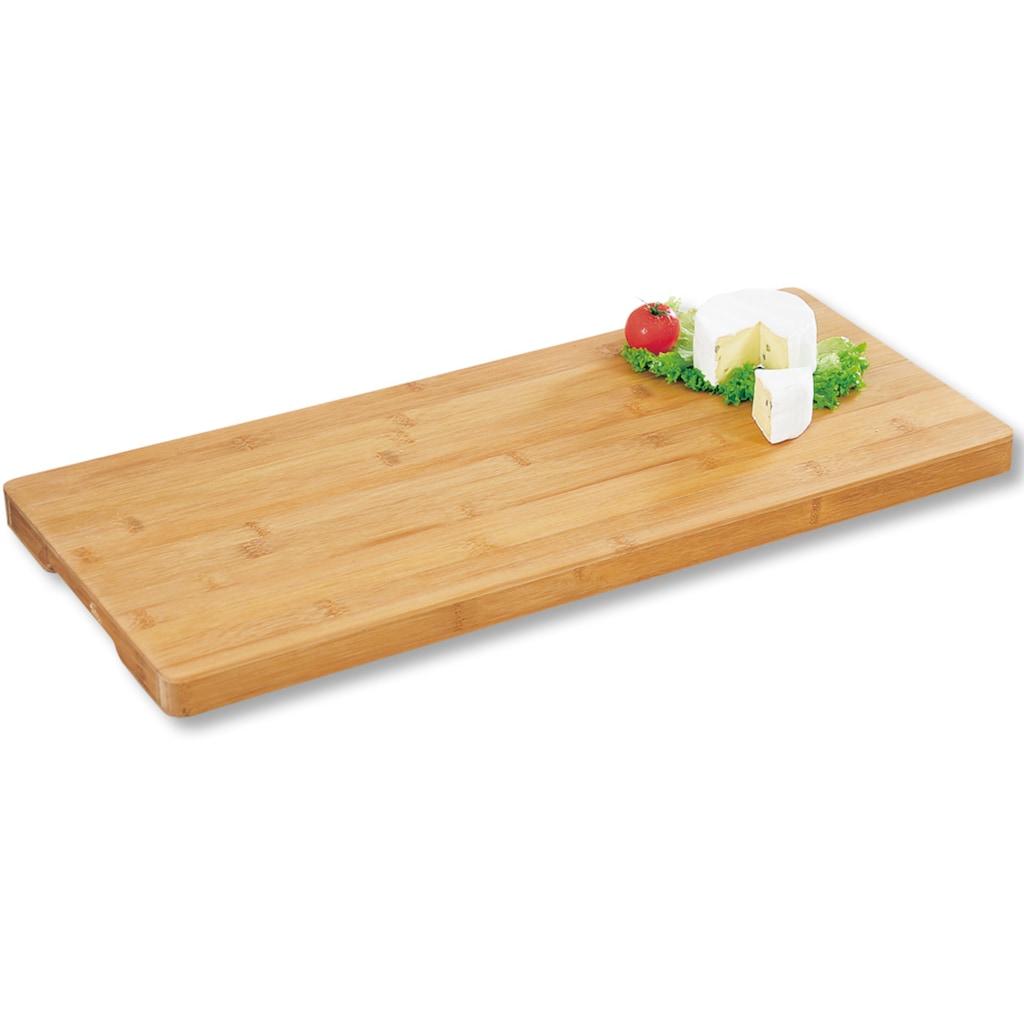 KESPER for kitchen & home Servierplatte, mit 2 Griffmulden