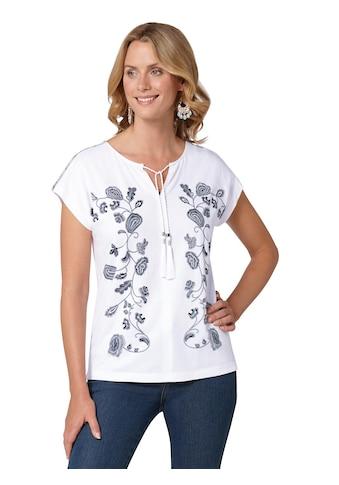 Ambria Shirt mit plakativen Blumen - Print kaufen