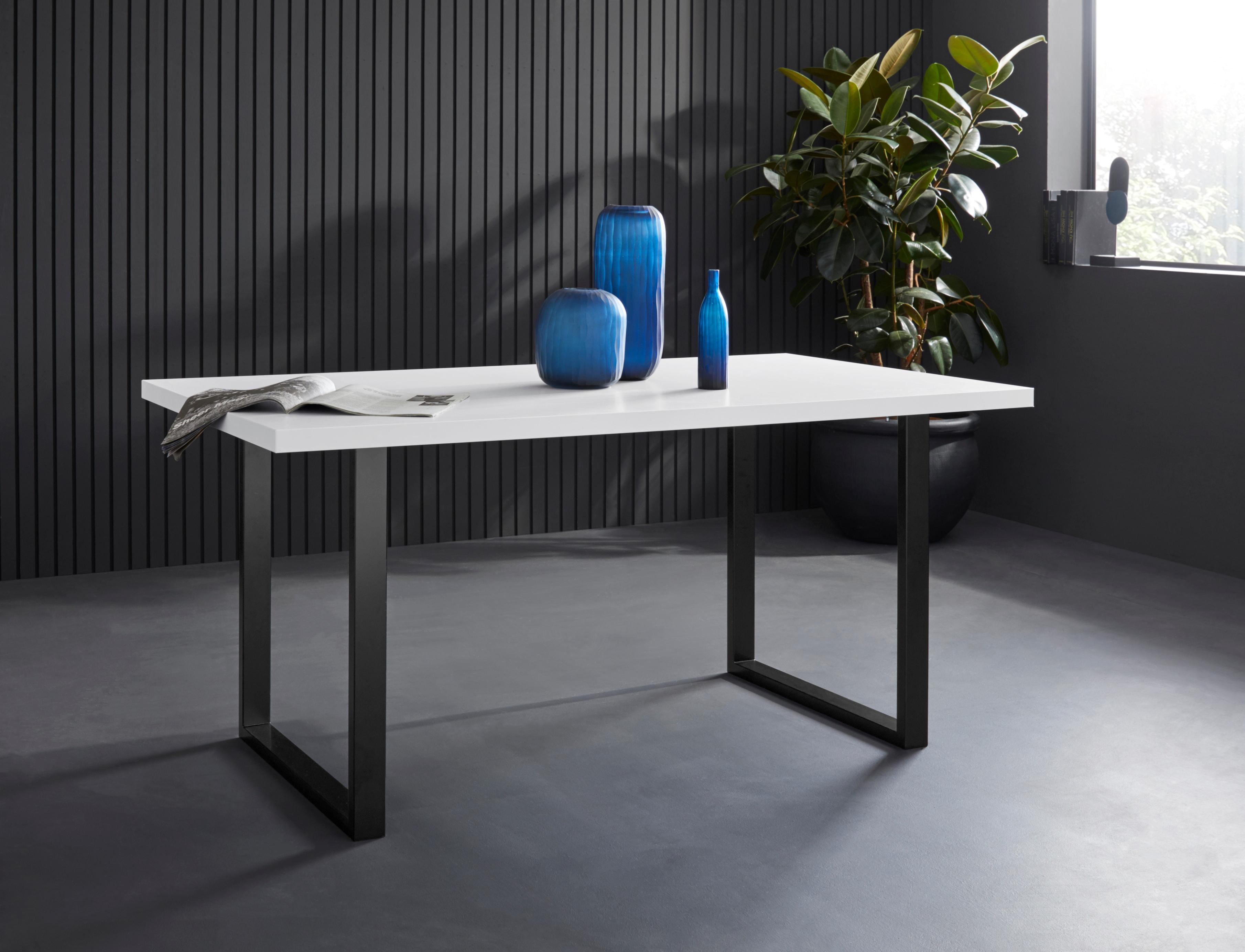 FORTE Esstisch, Breite 140 cm weiß Esstisch Esstische rechteckig Tische