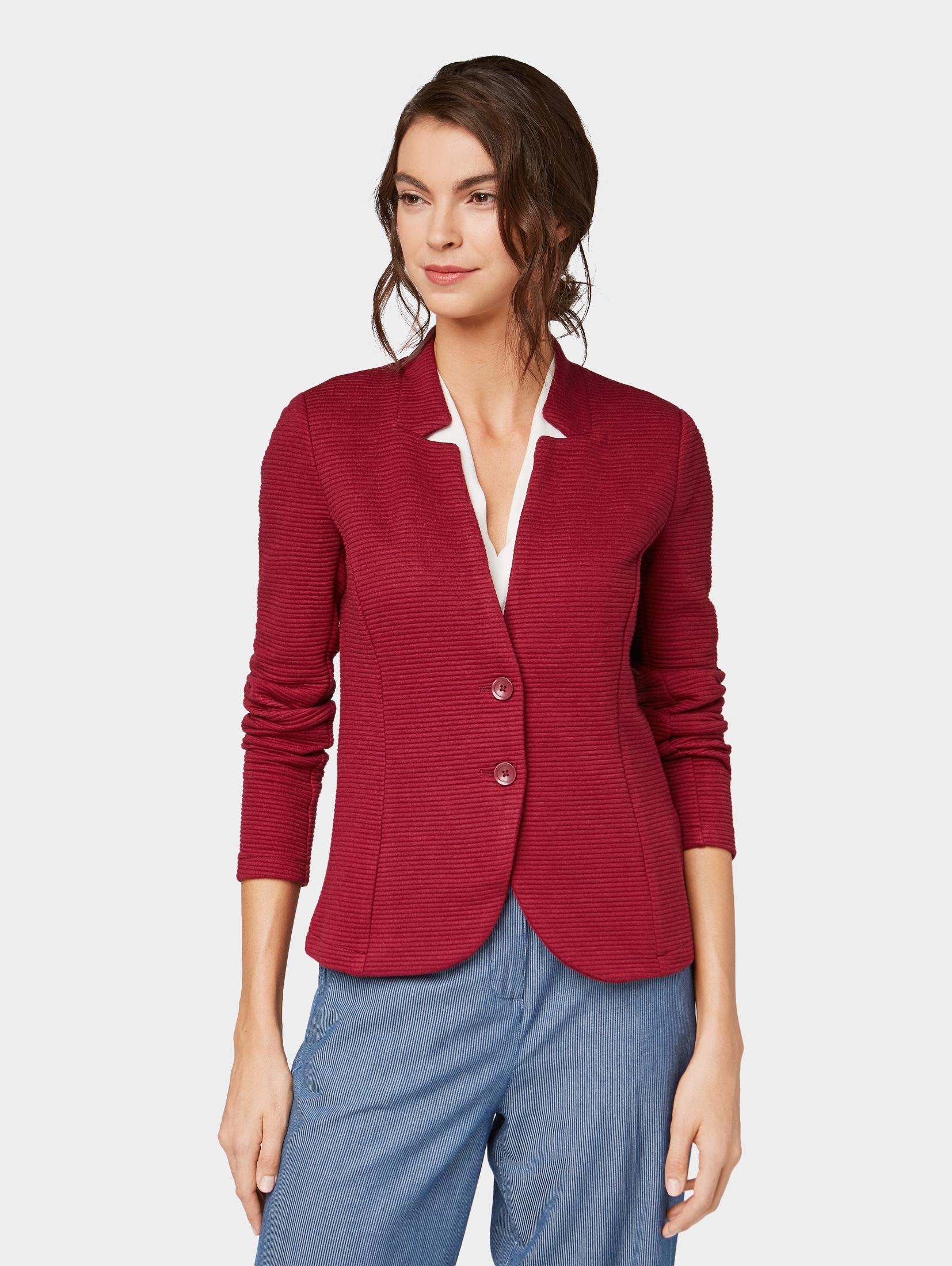 TOM TAILOR Jackenblazer Blazer mit Strukturmuster   Bekleidung > Blazer > Jackenblazer   Tom Tailor