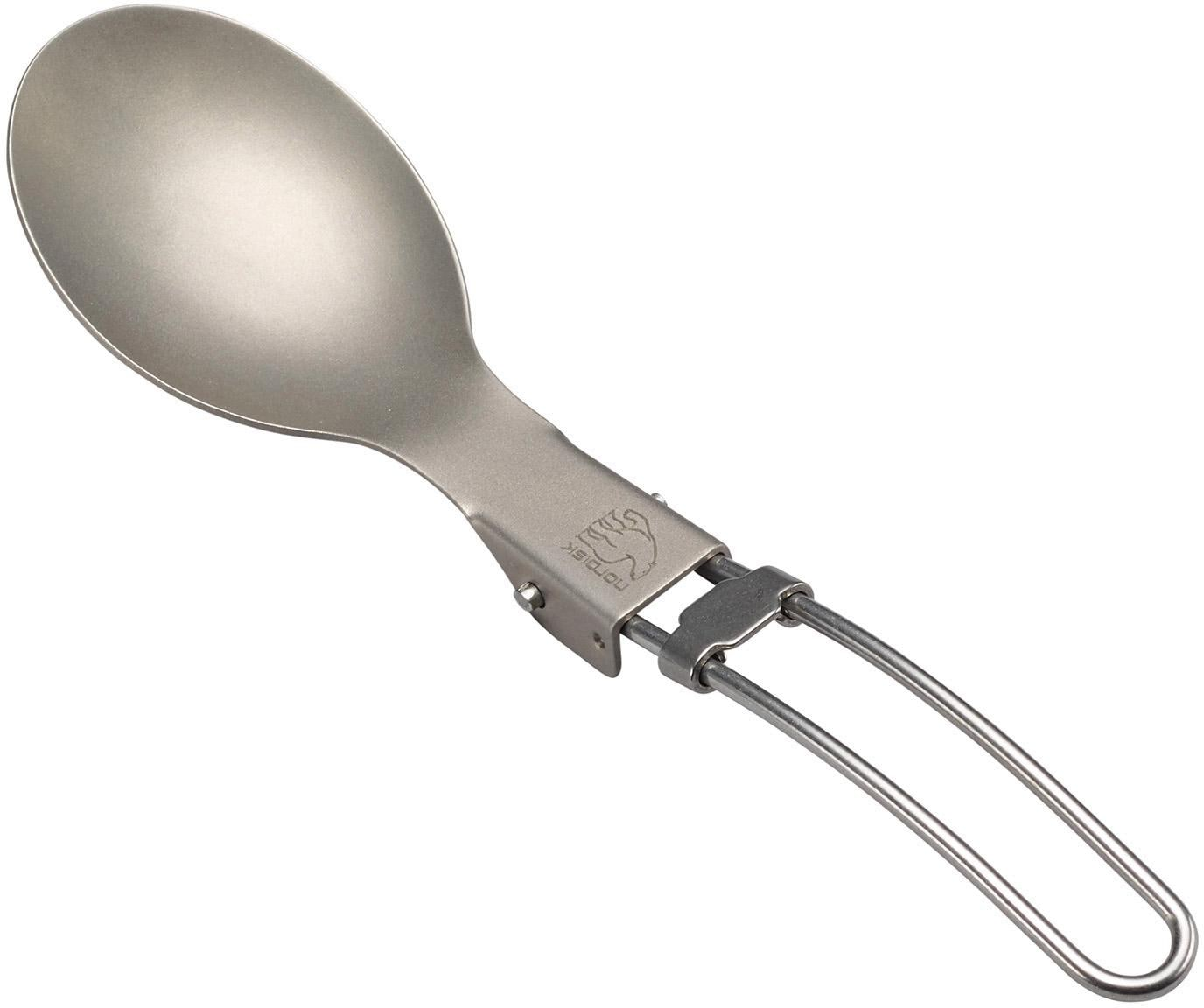 Nordisk Single Geschirr-Set Titan Spoon silberfarben Geschirr-Sets Geschirr, Porzellan Tischaccessoires Haushaltswaren