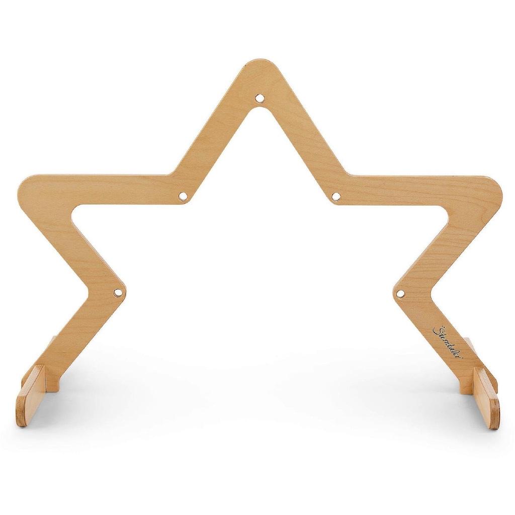 Sterntaler® Spielbogen »Stern, natur«, aus Holz; Made in Germany