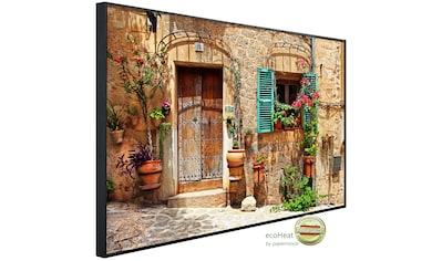 Papermoon Infrarotheizung »EcoHeat - Charming Street«, Aluminium, 750 W, 60 x 120 cm,... kaufen