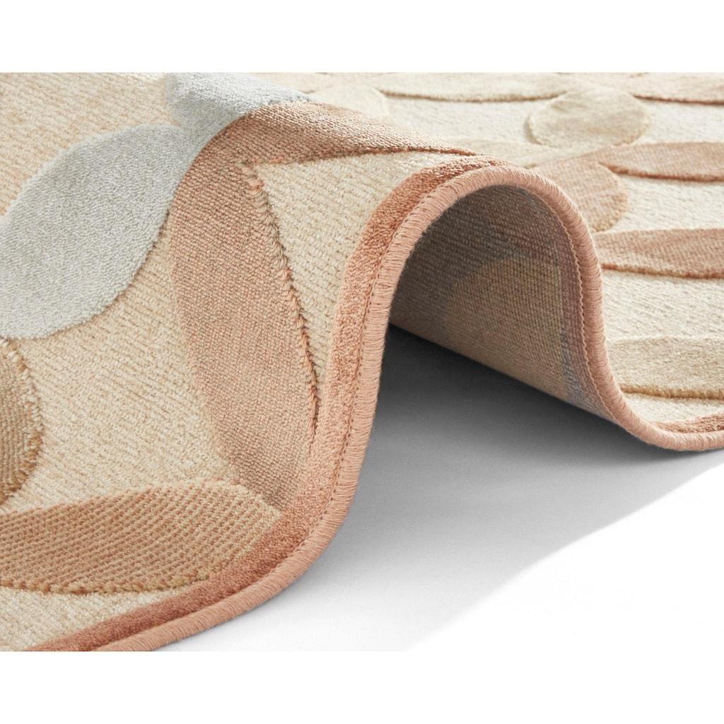 ELLE Decor Teppich »Chiers«, rechteckig, 8 mm Höhe, Hoch-Tief-Struktur, Wohnzimmer