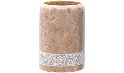 RIDDER Zahnputzbecher »Posh«, Marmor kaufen