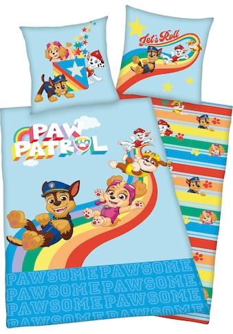 PAW PATROL Kinderbettwäsche »Lets Roll«, mit tollem Paw Patrol Motiv kaufen