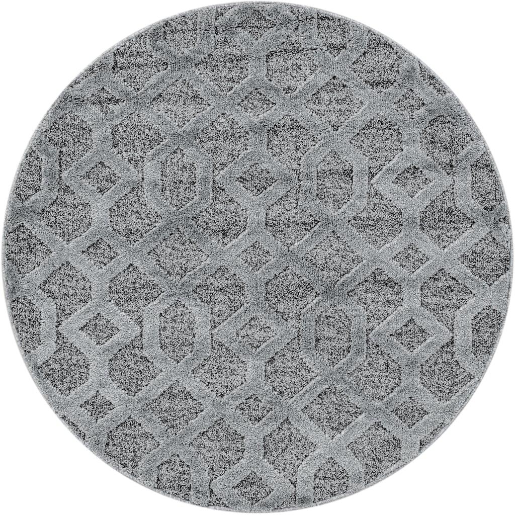 Ayyildiz Teppich »PISA 4702«, rund, 20 mm Höhe