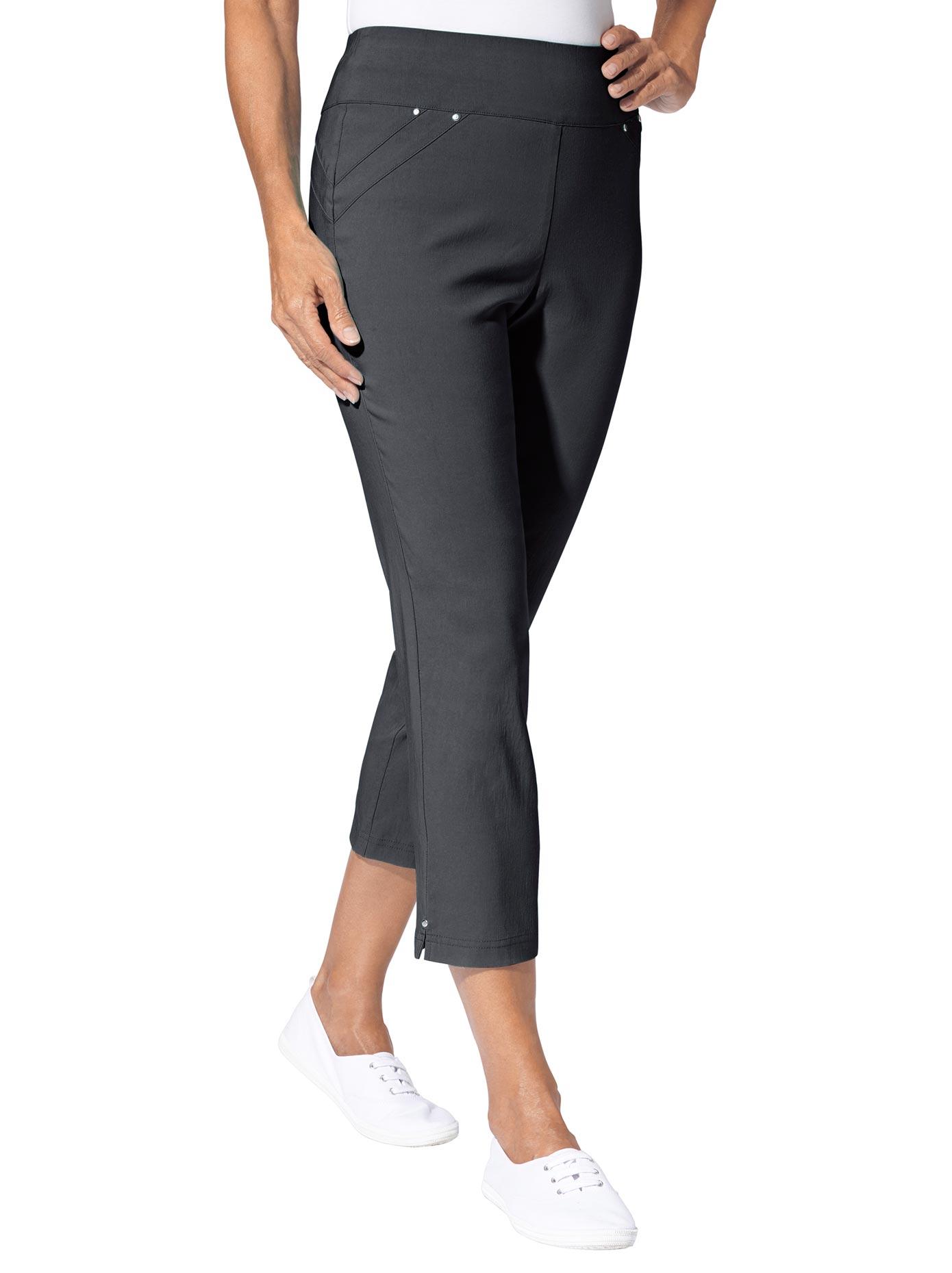 Classic Basics 7/8-Hose mit breitem Bund   Bekleidung > Hosen > 7/8-Hosen   Blau   Classic Basics