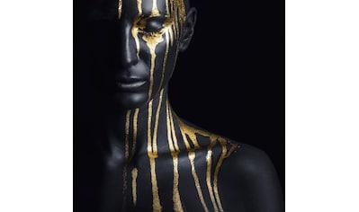Leonique Acrylglasbild »Gesichtshälfte« kaufen