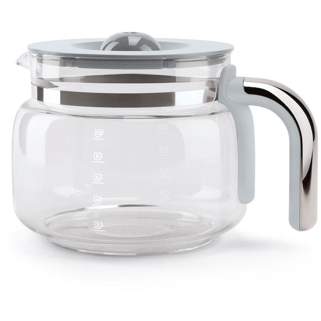 Smeg Filterkaffeemaschine DCF02BLEU, Papierfilter 1x4
