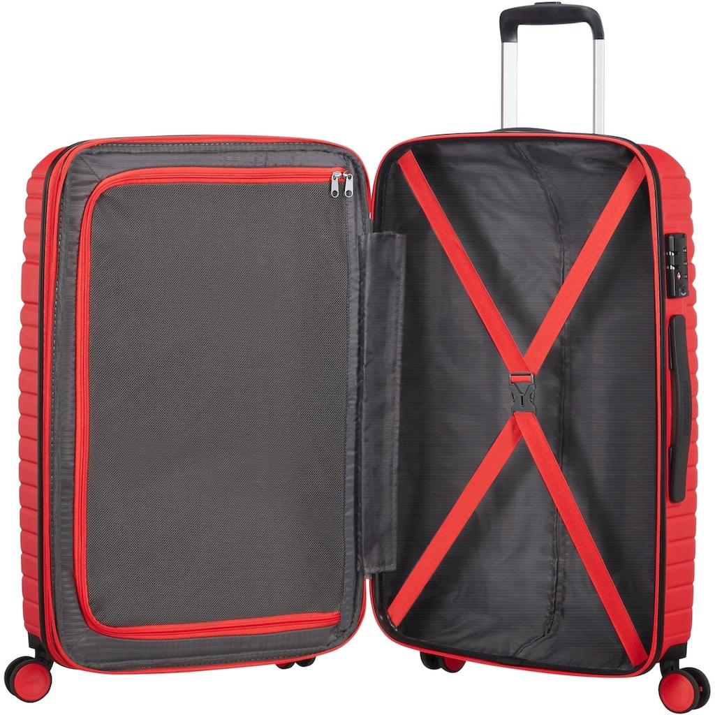 American Tourister® Hartschalen-Trolley »Aero Racer, 68 cm, poppy red«, 4 Rollen