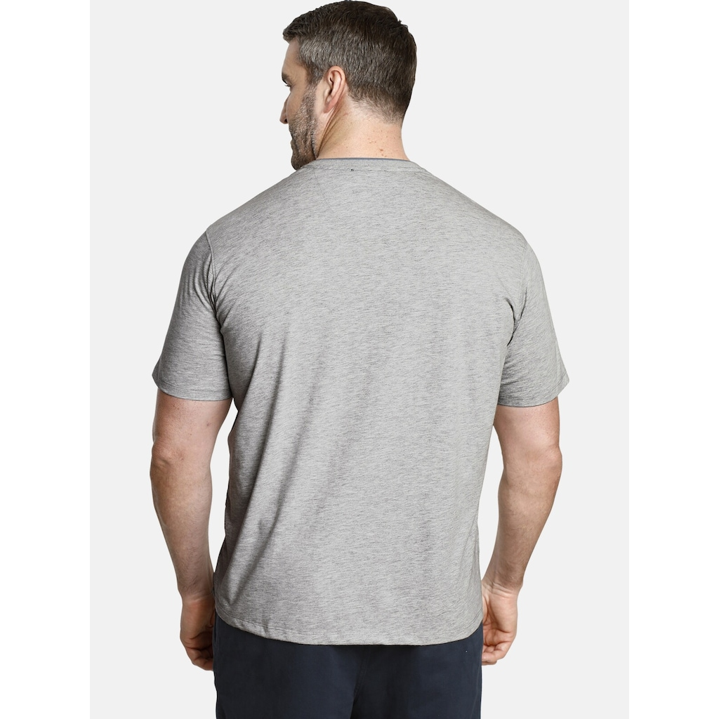 Charles Colby T-Shirt »EARL FINLEY«, mit strukturiertem Muster