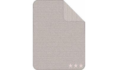 IBENA Babydecke »Lelu«, mit Streifen und Sternen ausgestattet kaufen