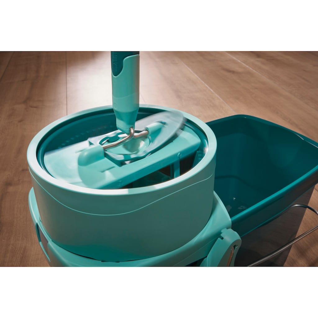Leifheit Bodenwischer-Set »CLEAN TWIST XL inkl Rollwagen«