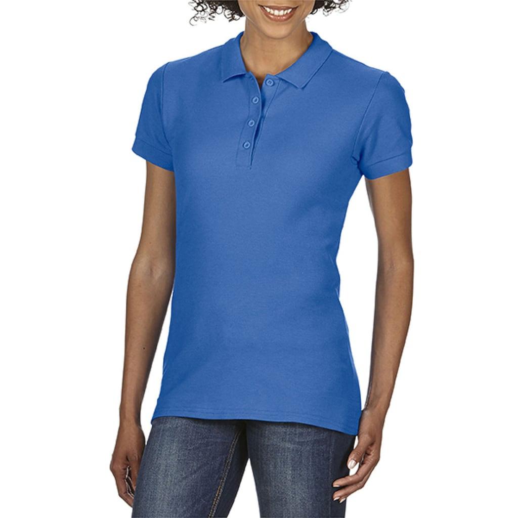Gildan Poloshirt »Softstyle Damen Kurzarm Doppel Pique Polo Shirt«