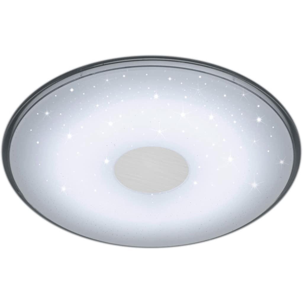 TRIO Leuchten LED Deckenleuchte »Shogun«, LED-Board, Neutralweiß-Tageslichtweiß-Warmweiß-Kaltweiß, Fernbedienung,integrierter Dimmer,Lichtfarbe stufenlos einstellbar,Nachtlicht,Memory Funktion