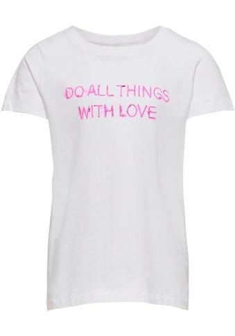 KIDS ONLY T-Shirt »KONCHLOE«, mit Sprüchemotiv kaufen
