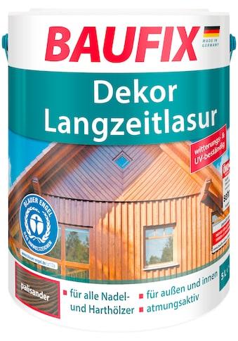 BAUFIX Holzschutz - Lasur »Palisander«, Dekor - Langzeitlasur kaufen