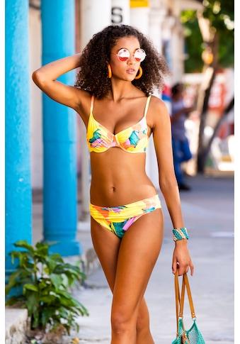 Olympia Bügel-Bikini, im farbenfrohen Design kaufen