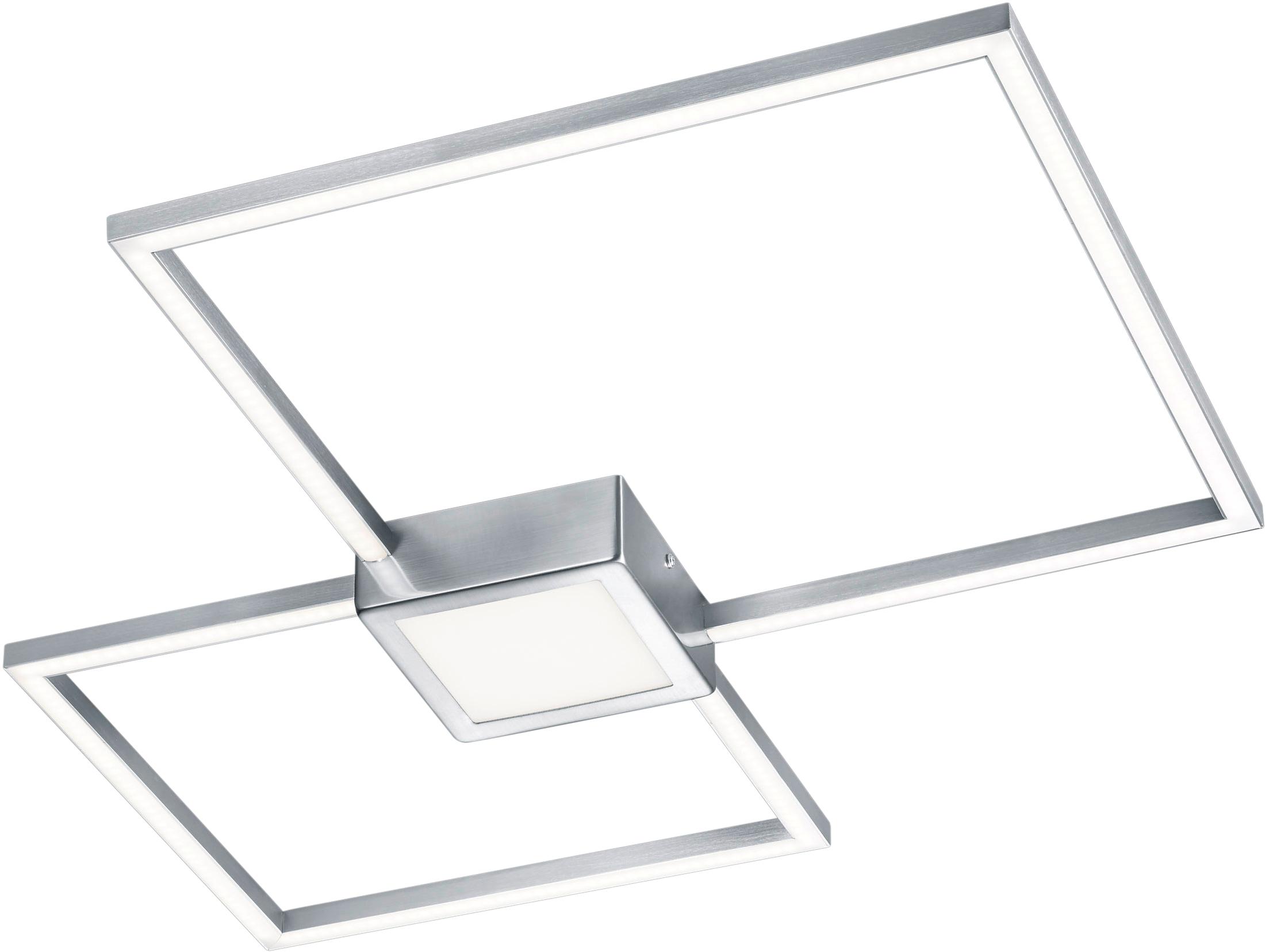 TRIO Leuchten LED Deckenleuchte HYDRA, LED-Board, 1 St., Warmweiß, LED Deckenlampe