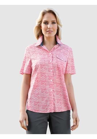 Dress In Bluse im modischen Druckdessin kaufen