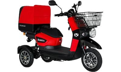 Rolektro Elektromobil »Rolektro E-Carrier 25«, 1000 W, 25 km/h, (Korb) kaufen