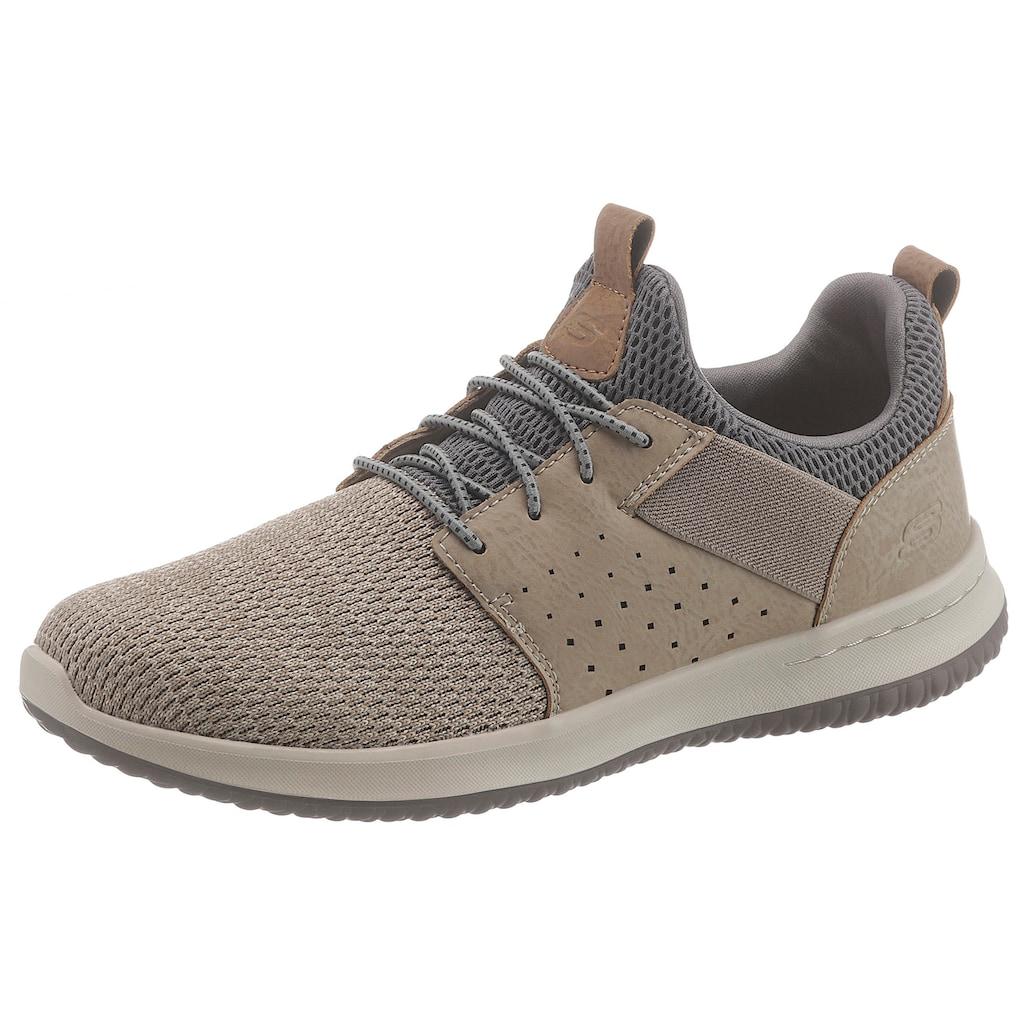 Skechers Sneaker »Delson-Camben«, mit praktischem Gummizug