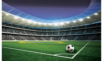 CONSALNET Fototapete »Fußballplatz Stadion«, Vlies, in verschiedenen Größen kaufen