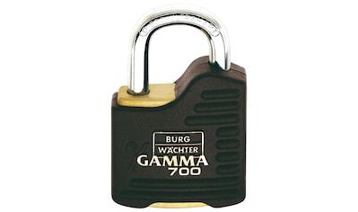 BURG WÄCHTER Vorhängeschloss »Gamma 700 55 SB«, Zylinder - Vorhangschloss kaufen