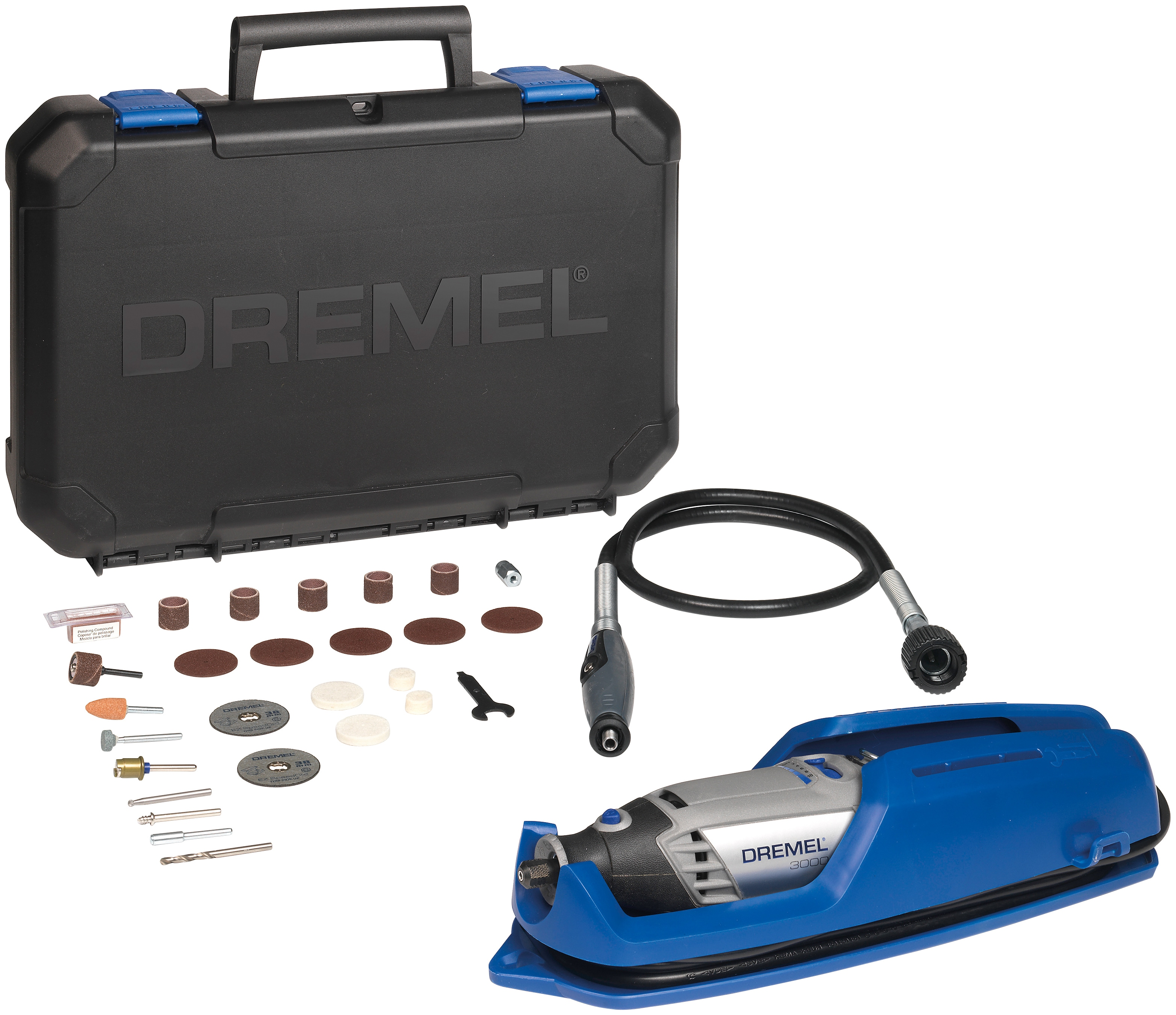 DREMEL Elektro-Multifunktionswerkzeug 3000-1/25 EZ grau Multifunktionswerkzeug Werkzeug Maschinen